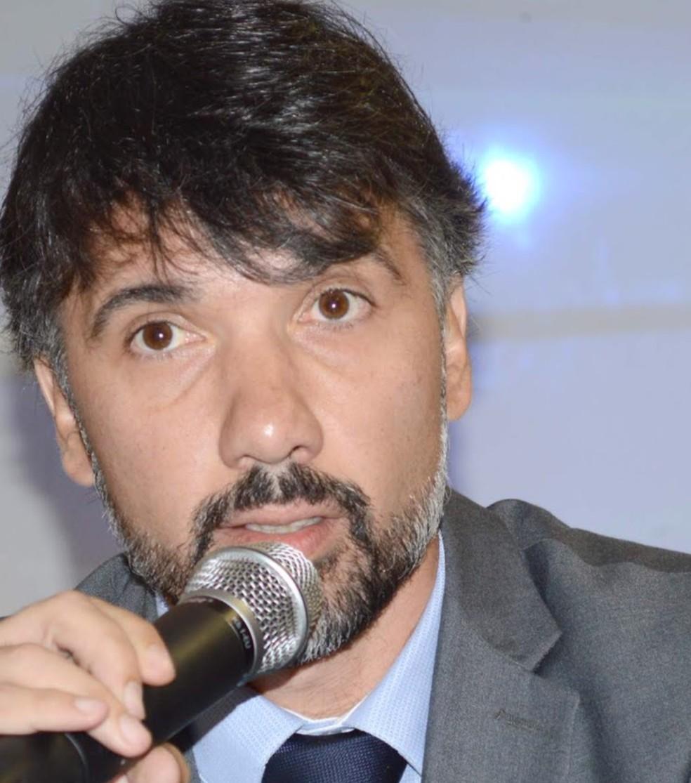 O delegado Rodrigo Morais, responsável pelas investigações. — Foto: Divulgação