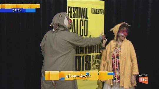 Com espetáculos e homenagem ao circo, Festival Palco Giratório começa nesta quarta-feira em Florianópolis