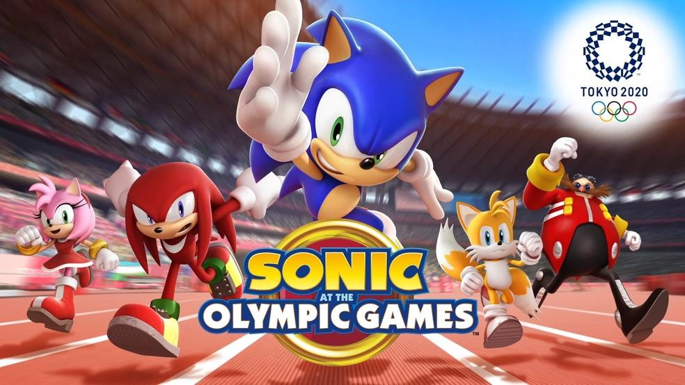 Sonic at the Olympic Games - Tokyo 2020 foca em personagens da série da SEGA e chega ao mobile em maio. — Foto: Divulgação/SEGA