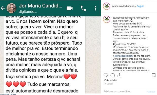 Vovô Na Web Mensagens De Superação 1: Após Término Exposto Na Web, Maria Cândida Se Afasta Das