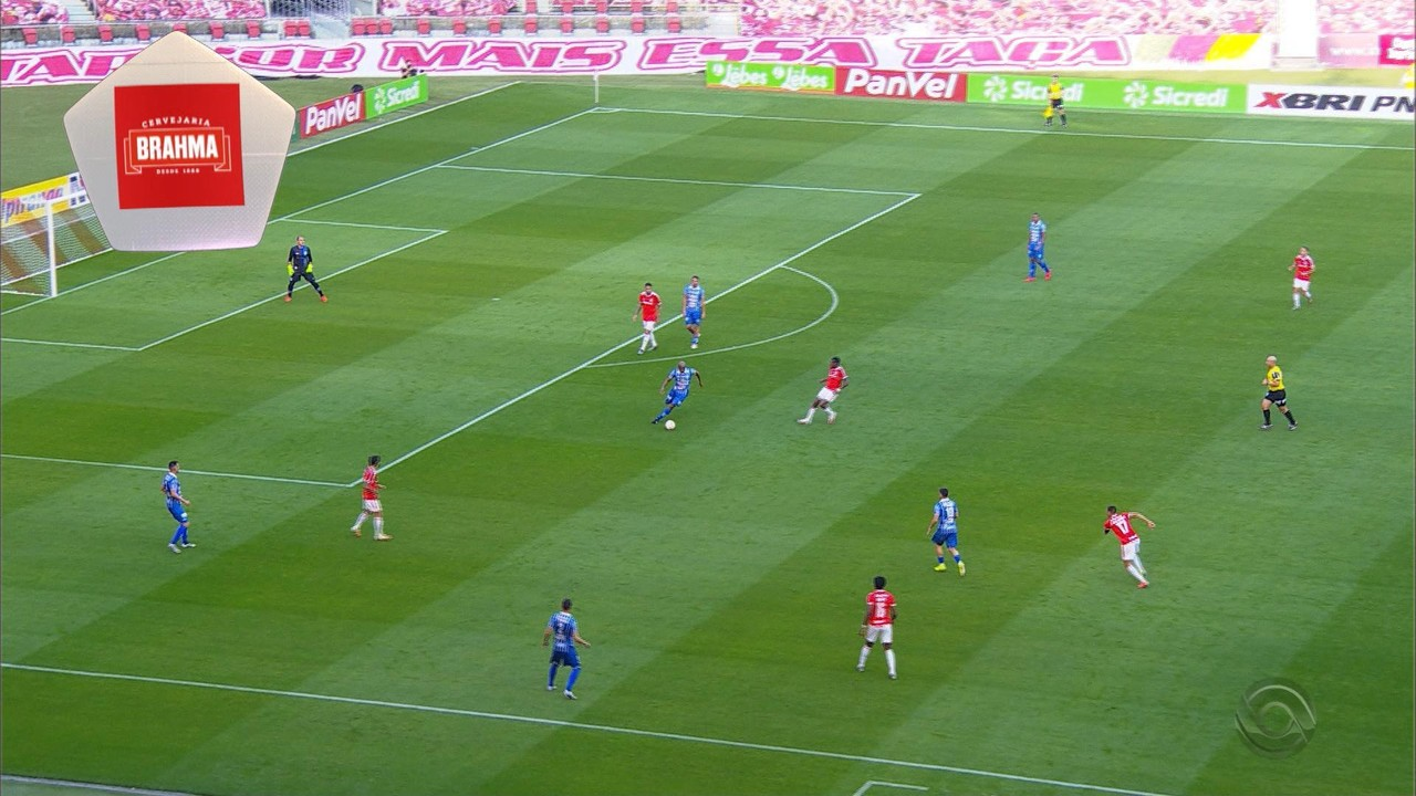 Inter 4 x 0 Esportivo - Galhardo dá assistência para Guerrero