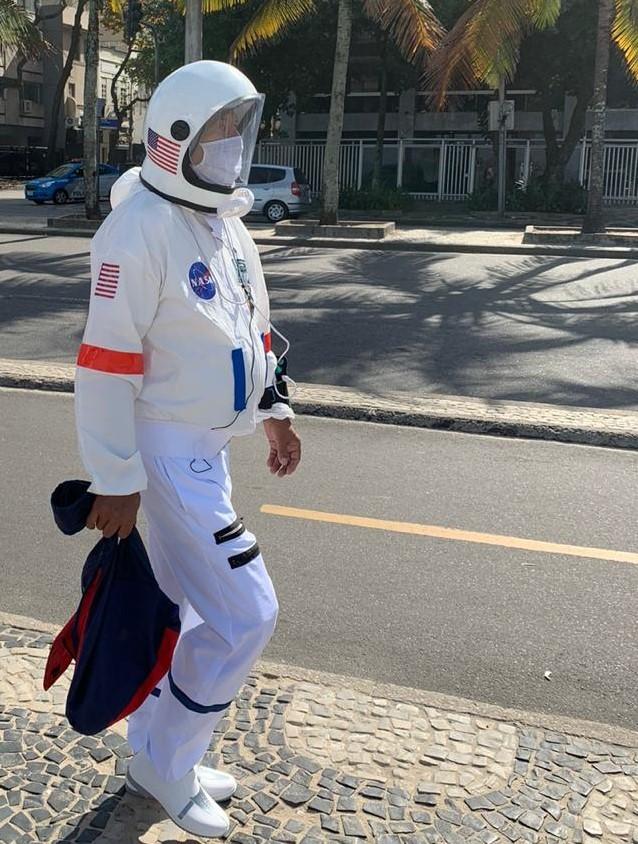 O 'astronauta' de Ipanema