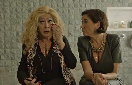 Na quinta-feira (14), Marcos Paulo confessará a Valentina que se uniu a Gabriel (Bruno Gagliasso). TV Globo