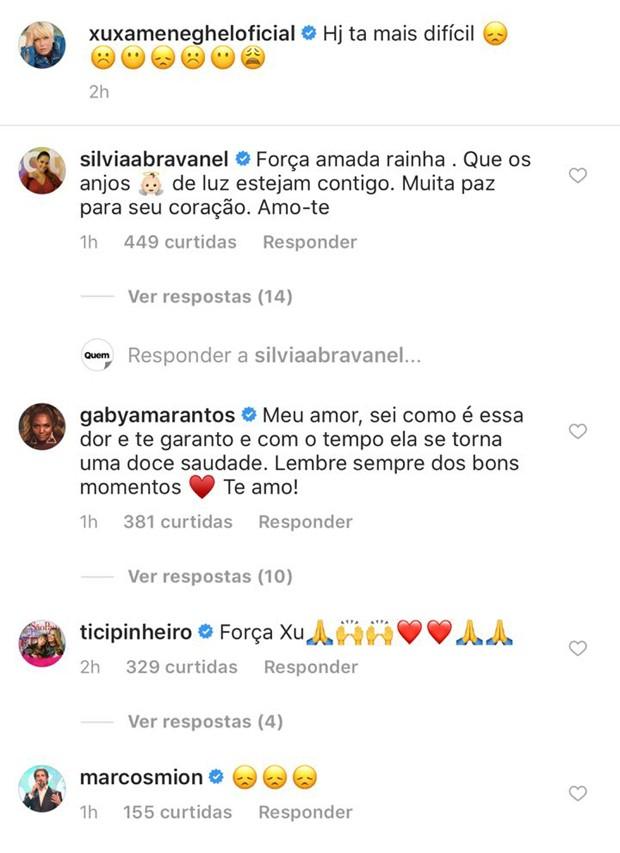 Xuxa recebe apoio de famosos no Instagram (Foto: Reprodução/Instagram)