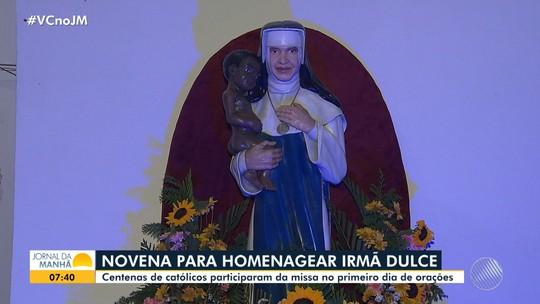 Calendário de comemorações a Irmã Dulce é aberto em Salvador com festa e missa