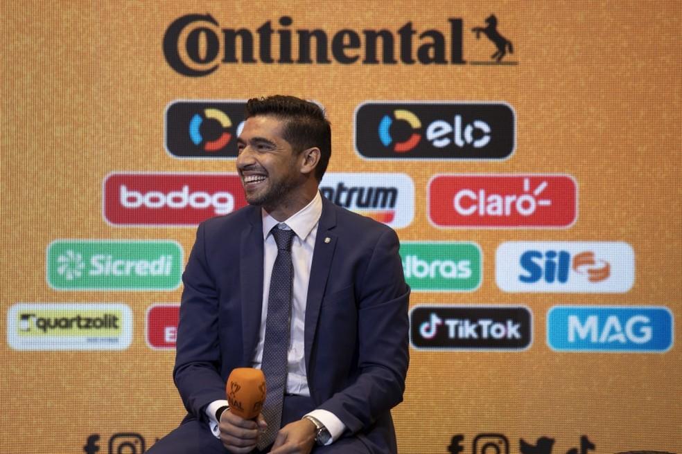 Abel Ferreira, técnico do Palmeiras — Foto: Lucas Figueiredo/CBF