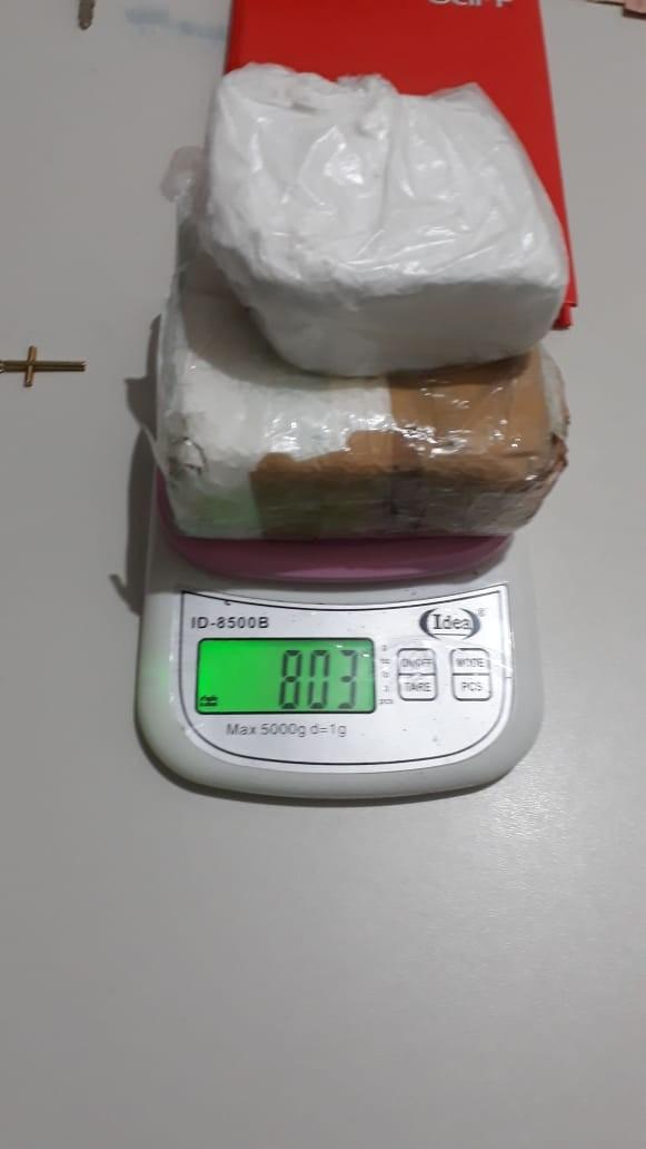 Suspeito investigado por porte de explosivos é preso com cocaína no Sul do Piauí