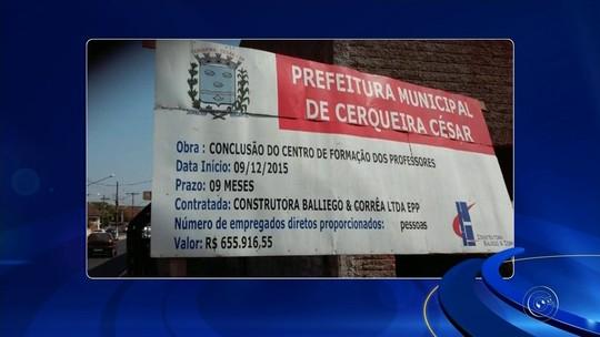Tribunal de Contas do Estado fiscaliza obras públicas e encontra irregularidades na região