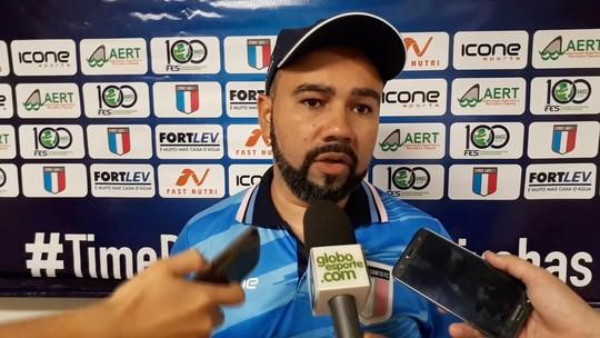 Cleiton Marcelino justifica mudanças no Santão após empate com o Atlético-ES