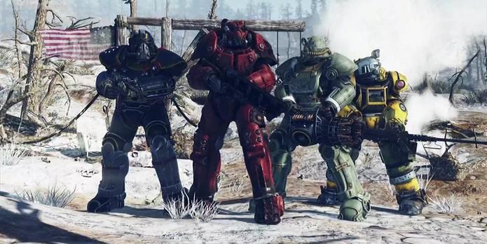 Fallout 76 é inteiramente multiplayer (Foto: Divulgação/Bethesda)