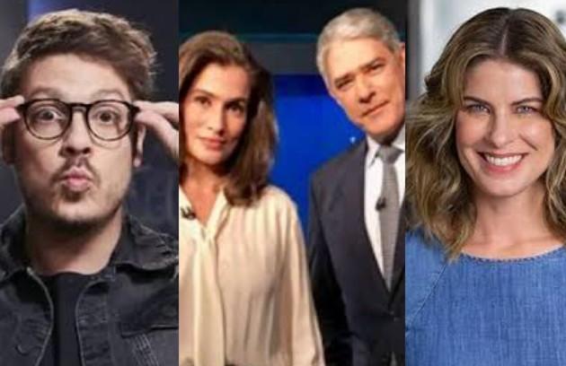 """Em 2020, o jornalismo trabalhou mais do que nunca e cumpriu um papel histórico. Boas entrevistas, """"Big Brother"""" e muita receita estiveram entre os destaques. (Foto: TV Globo)"""