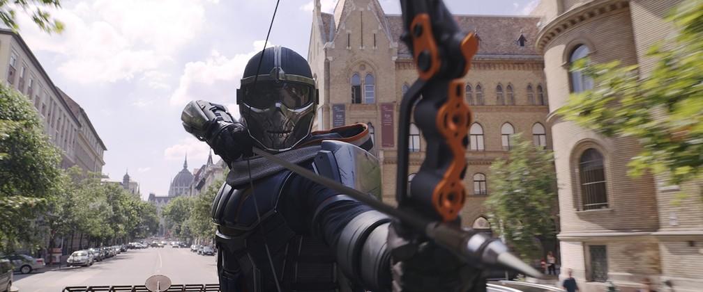 O Treinador é um dos vilões de 'Viúva Negra' — Foto: Divulgação