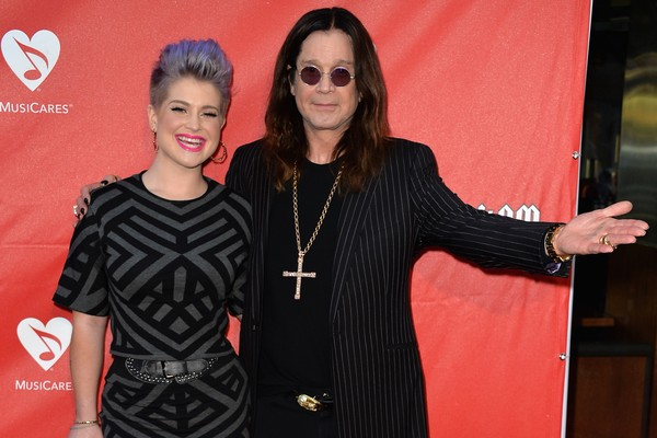Kelly Osbourne e Ozzy Osbourne (Foto: Getty Images)