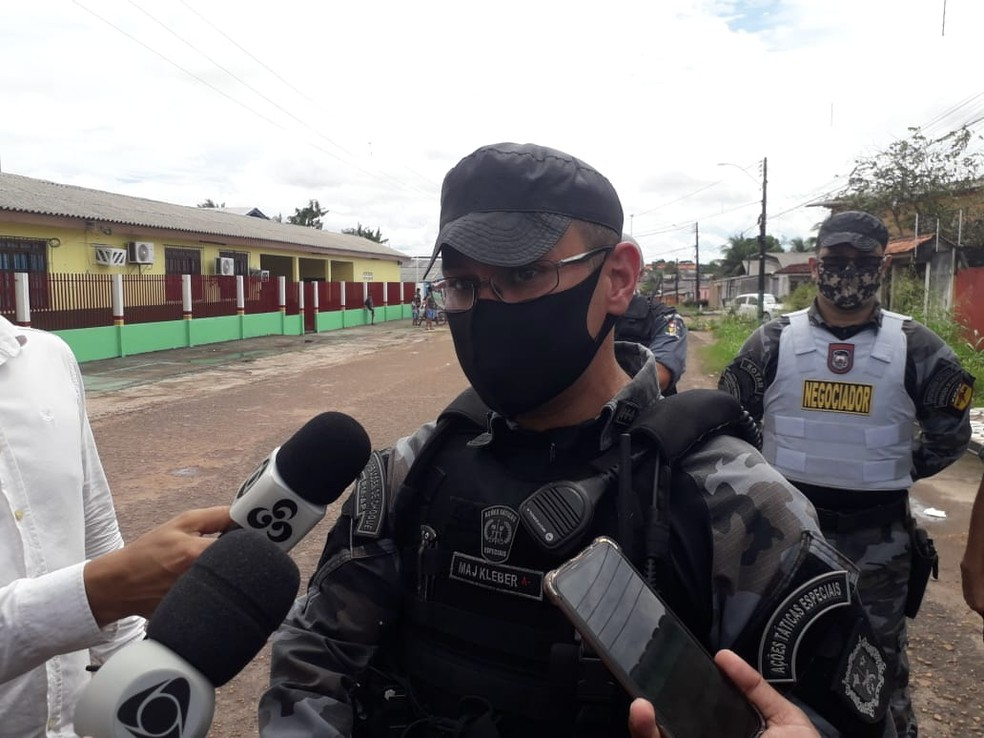 Major Kléber Silva, comandante do Bope — Foto: Victor Vidigal/G1