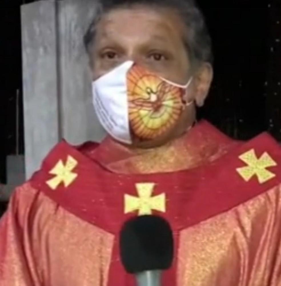 Padre Reginaldo Ribeiro atua em Montes Claros — Foto: Inter TV/Reprodução