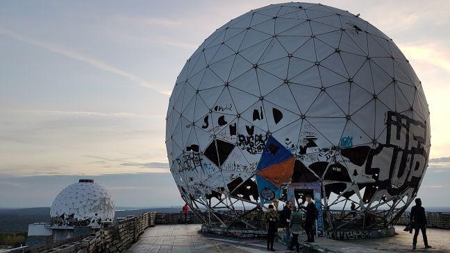 Estação de escuta da NSA dos Estados Unidos em Teufelsberg, Berlim (Foto: Albert Steinberger)