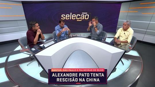 Santos e São Paulo precisam mais de Alexandre Pato do que o Palmeiras, diz Ricardinho