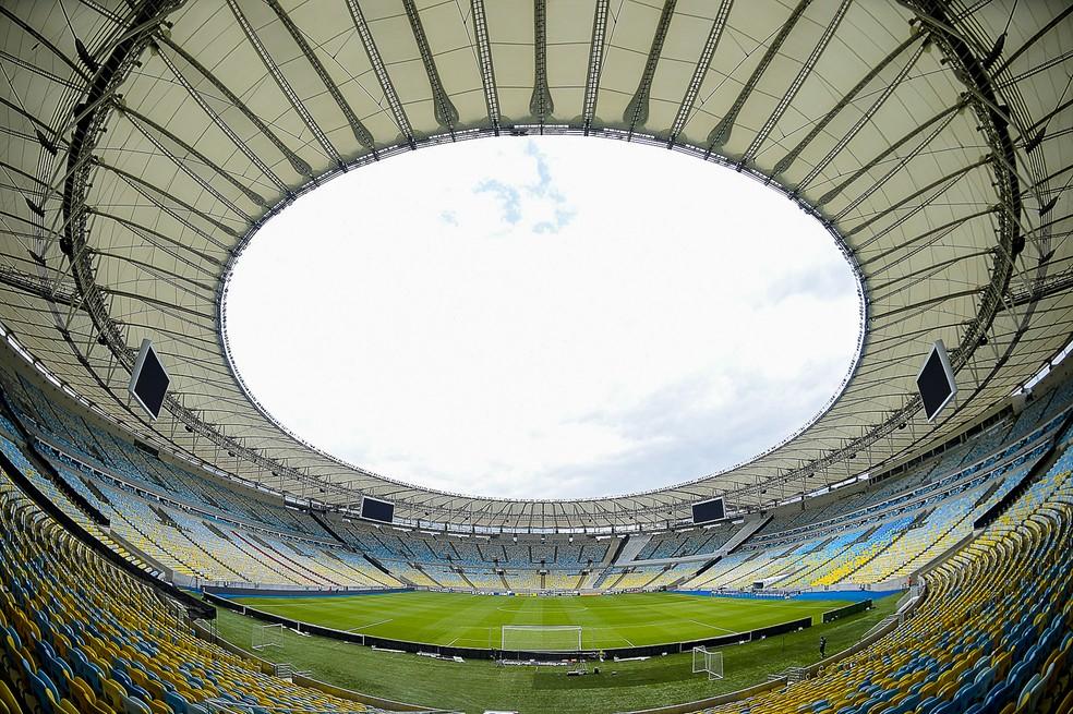 Maracanã será o palco da final da Libertadores de 2020 — Foto: Alexandre Loureiro/BP Filmes