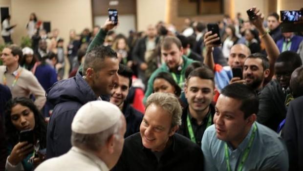 A preparação para o sínodo teve a colaboração de jovens de todo o mundo - papa - vaticano (Foto: Divulgação)