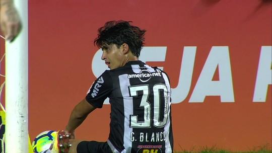 Líder do Galo em desarmes, Blanco também foca em 1º gol neste Brasileirão