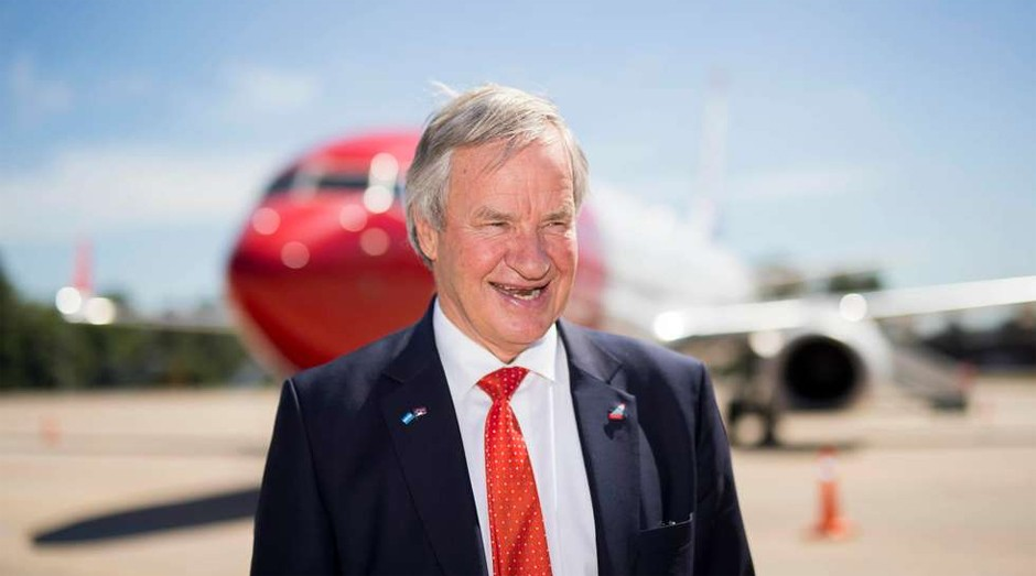 Bjørn Kjos, fundador da Norwegian Air (Foto: Getty Images)
