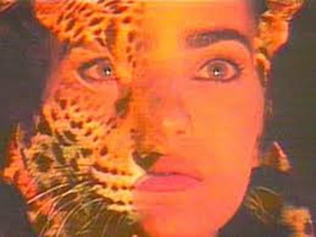 Nani Venâncio na abertura da novela Pantanal (1990) (Foto: Divulgação/Rede Manchete)