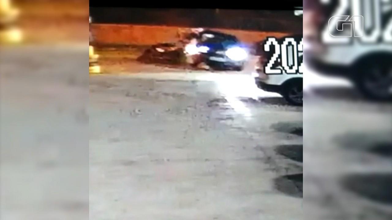 Imagens mostram momento de acidente com PM em Guarulhos, SP