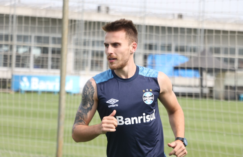 Bressan deve deixar o Grêmio — Foto: Eduardo Moura