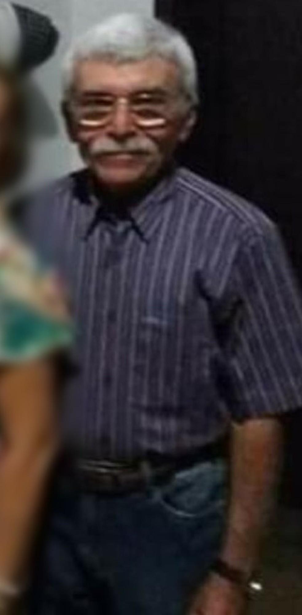 José de Medeiros Fernandes tinha 74 anos e estava em um sítio na zona rural de São Fernando, quando foi morto por assaltantes — Foto: Redes Sociais