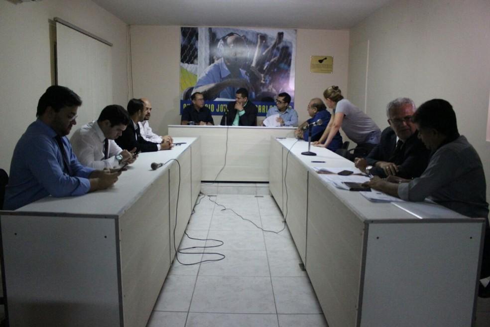 Julgamento Caso Garcês no Pleno do TJD-PI levou a nova condenação ao Parnahyba (Foto: Wenner Tito/GloboEsporte.com)