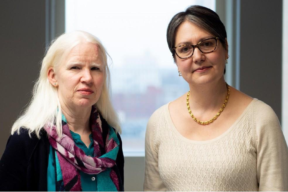 A enfermeira Lucia Wocial e a médica Alexia Torke, responsáveis pelo estudo  — Foto: Divulgação: Regenstrief Institute