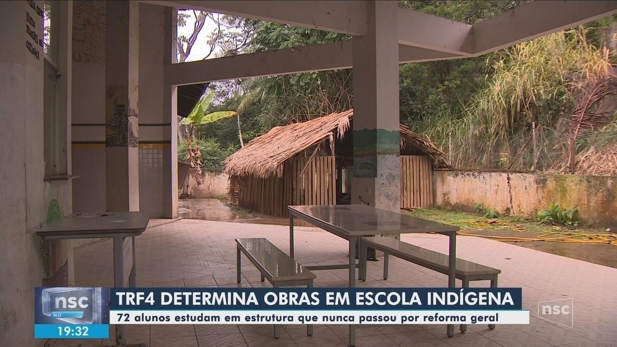 TRF4 determina reforma em escola indígena de Biguaçu