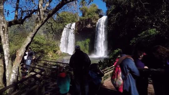 Veja as Cataratas do Iguaçu por um novo ângulo com o 'Meu Paraná'