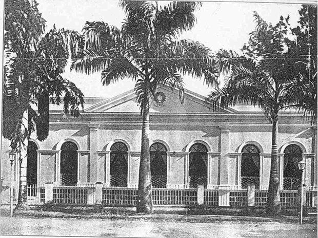 Palácio Presidencial foi moradia de presidentes e governadores (Foto: Acervo Arq. Ademar Poppi)