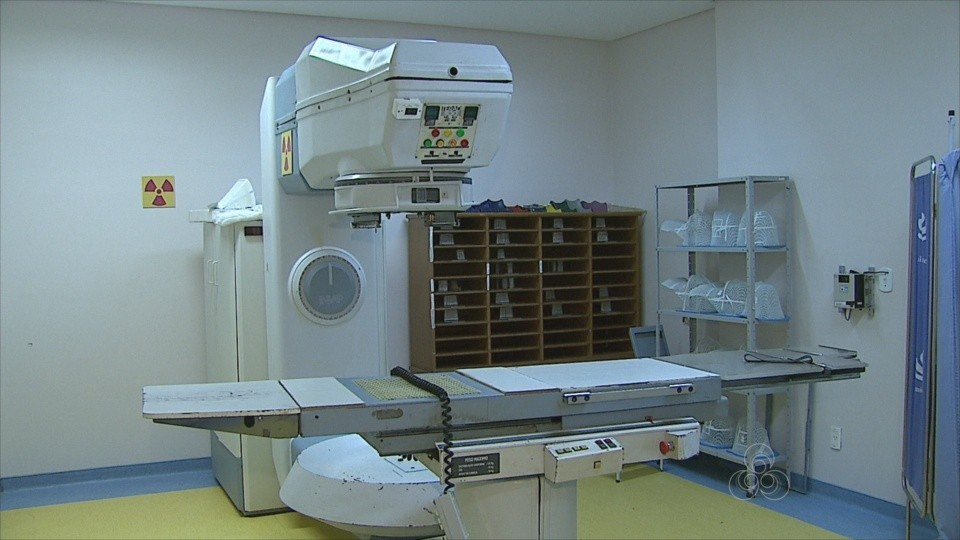 Único aparelho de radioterapia do Acre está quebrado há um ano, diz Unacon