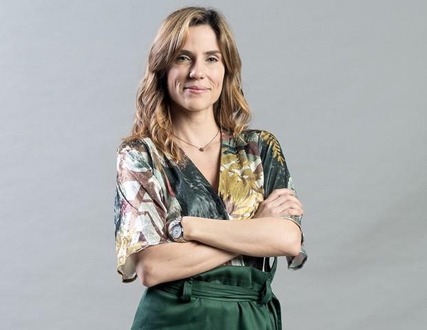 Helen Azeredo (Rafaela Mandelli) – Psiquiatra, ambiciosa, mas interessada em compreender o ser humano. Pauta seu trabalho pelos limites da ética. Vai se envolver com Bento. (Foto: Globo/Raquel Cunha)