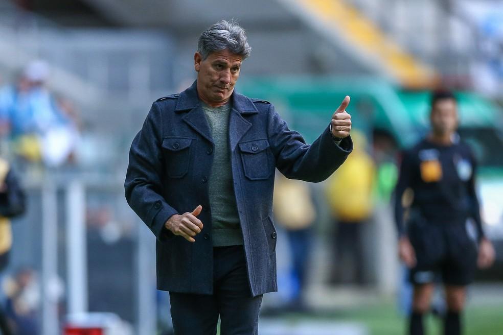 Renato Gaúcho, técnico do Grêmio  — Foto: Lucas Uebel / Grêmio, DVG