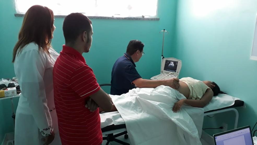 Manicoré está com sistema de saúde 100% digitalizado — Foto: Walter Júnior/Rede Amazônica