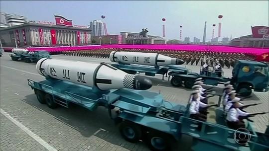 Presidente da China liga para Trump para falar da Coreia do Norte