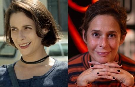 Andréa Beltrão, no ar na série 'Hebe', foi Lisa, namorada de Alexandre. Após a morte dele, envolveu-se com Téo TV Globo - O Globo