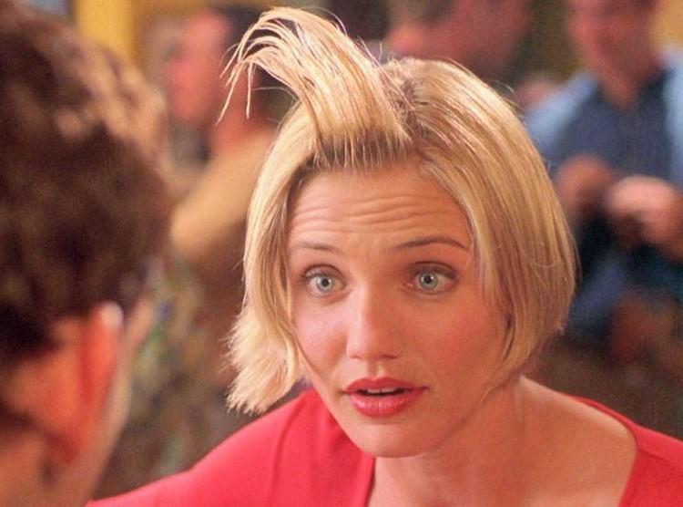 A atriz Cameron Diaz em cena de Quem Vai Ficar com Mary? (1998) (Foto: Reprodução)