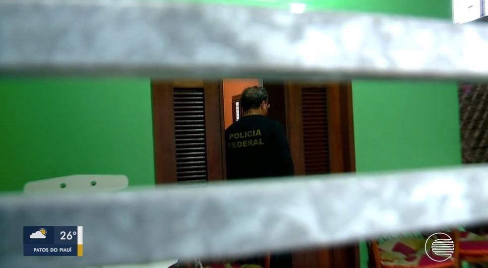 PF deflagra operação contra organização criminosa responsável pelo comércio ilegal de madeira — Foto: Reprodução/TV Clube