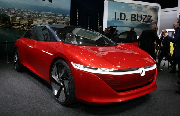 Volkswagen I.D. Vizzion (Foto: Newspress)