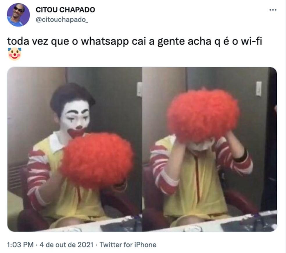 WhatsApp fica fora do ar, mas usuários pensam que estão com problemas no Wi-Fi — Foto: Reprodução/TechTudo