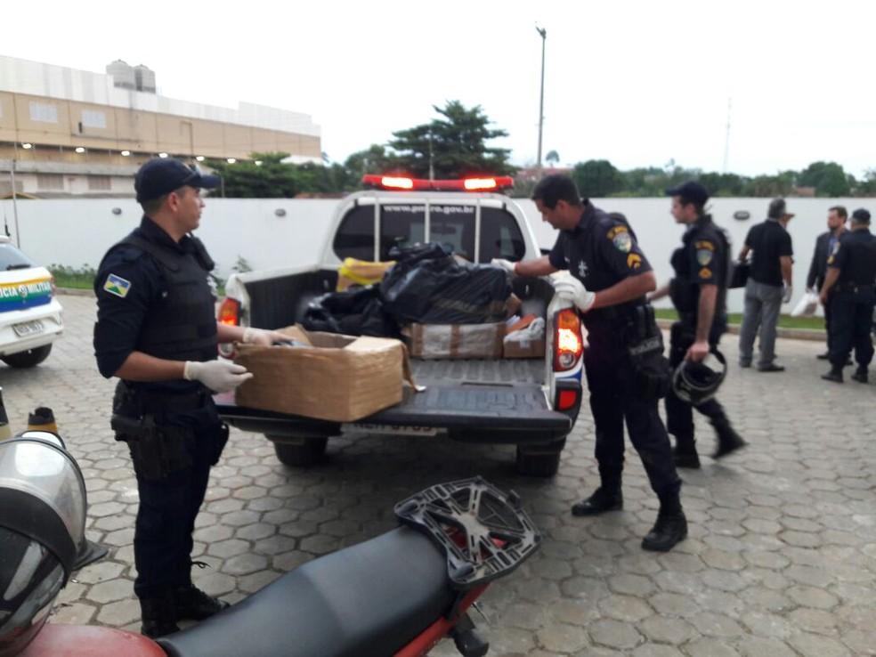 PM e Civil participaram de operação (Foto: PM/Divulgação)