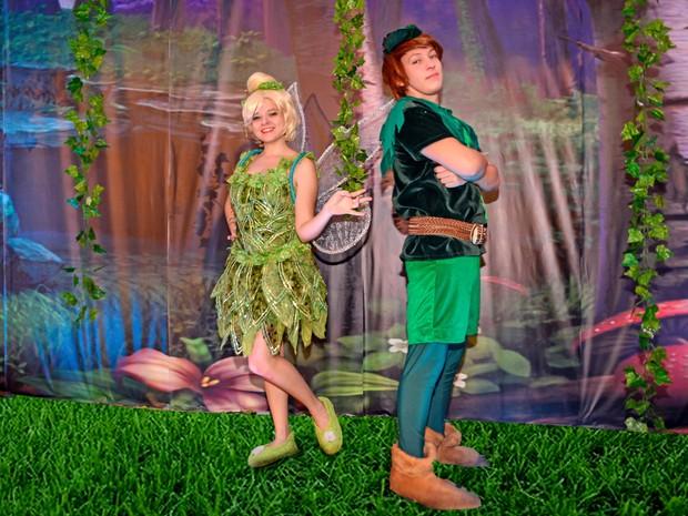 Espetáculo 'Peter Pan e Sinonho na Terra do Nunca' é a atração deste domingo (24) no Shopping Parangaba (Foto: Cia Mix da Alegria/Divulgação)
