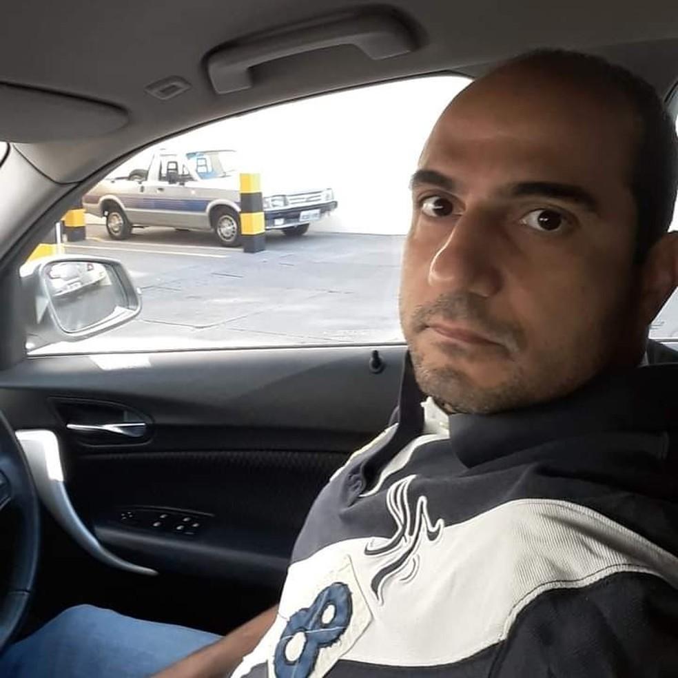 Rafik Samir Feguri, de 42 anos, foi preso e liberado após ser ouvido — Foto: Arquivo pessoal