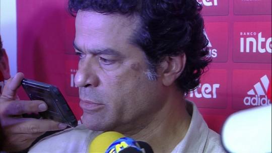 Raí diz que Jean continua nos planos do São Paulo e desconversa sobre interesse em Pato