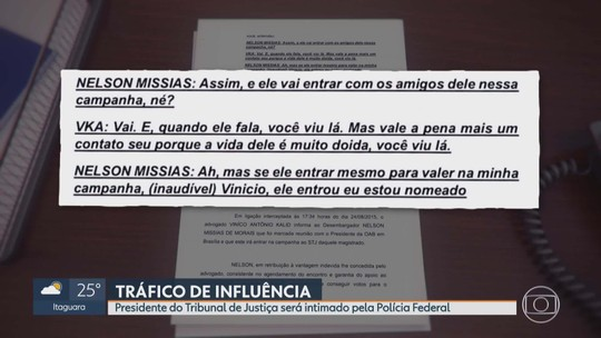 STJ autoriza PF a intimar presidente do TJMG e o vice-presidente do TRE-MG