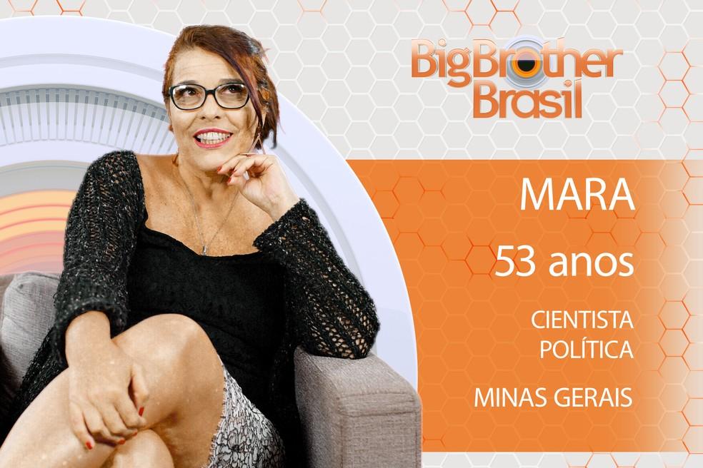 Mara é participante do BBB18 (Foto: TV Globo)